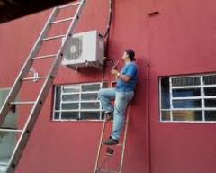 Instalação de sistemas de ar condicionado