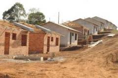 Construção de condomínio