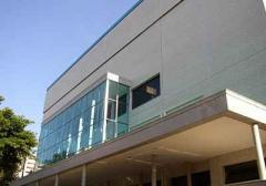 Construção do auditório e ampliações