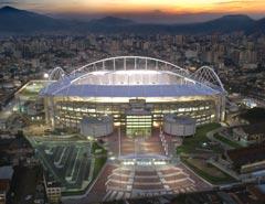 Construção do Estádio Olímpico João Havelange