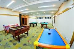 Sala de jogos em hotel