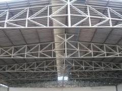 Fabricação e montagem de estruturas metálicas e tubulações