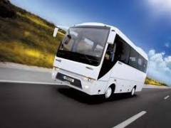 Entrega de bilhetes para autocarros