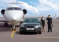Encontro no aeroporto e transporte para hotel