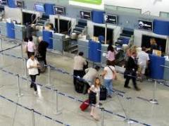 Entrega de passageiros ou bagagem para aeroporto