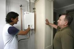Instalação aquecedores de agua