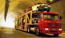 Transportes de carros em cegonha