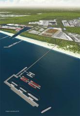 Terminal offshore TX1