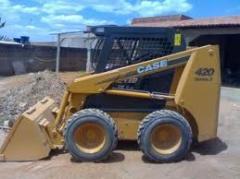 Aluguer, leasing do equipamento para construção