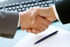 Serviços de consultores sobre garantias de crédito