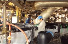 Tanque de Estocagem,Tubulações, Trocadore de Calor e Reator
