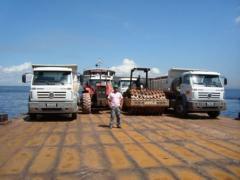 Transportes de balsas