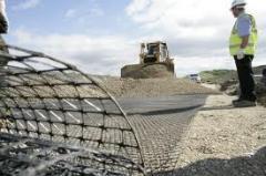 Reforço e impermeabilização dos solos