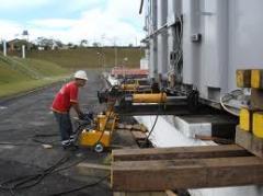 Remoção técnica de máquinas e equipamentos