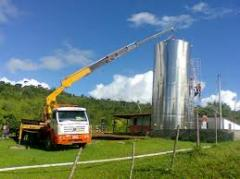 Montagem industrial e serviços para construção civil