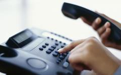 Atendimento de telefonia/internet