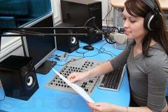 Serviços de publicidade na rádio