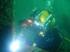 Proteção contra a corrosão de metais subaquático
