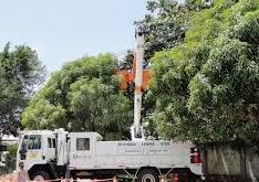 Prestação de serviços de manutenção de redes de distribuição de eletricidade