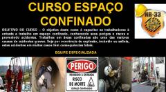 TREINAMENTO ESPAÇO CONFINADO NR 33