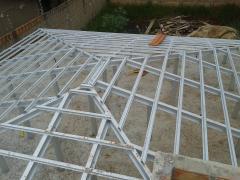 Estrutura para Telhado em Aço Galvanizado