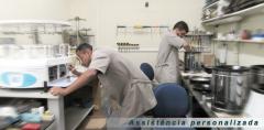 Assistência técnica para equipamentos de patologia