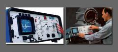 Rebobinamento de equipamentos elétricos.