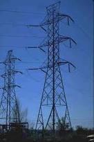 Instalação de redes de cabos de alta tensão