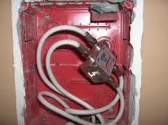 Instalação de equipamento eléctrico