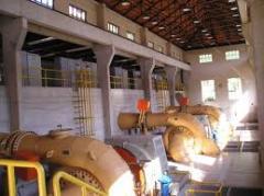 Instalação de usinas de energia elétrica