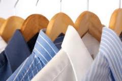 Serviços de limpeza de roupa