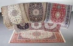 Lavagem a seco de todos os tipos de tapetes, carpetes