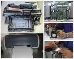 Manutenção de impressoras jato de tinta para