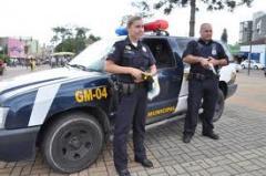 Guardas patrimoniais armados e equipados com