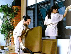 Serviços gerais de limpeza