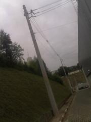 Construção de linhas de energia