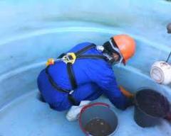 Desinfeccao bacteriologica caixas de agua
