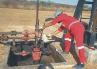 Coleta de amostra de petróleo para BSW