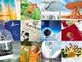Design de folheto, catálogo, agenda, e-cards.