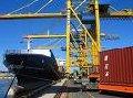 Переработка в порту контейнеров ( 20- и 40-футовые контейнеры)