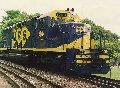 Locomotivo GM SD40-M